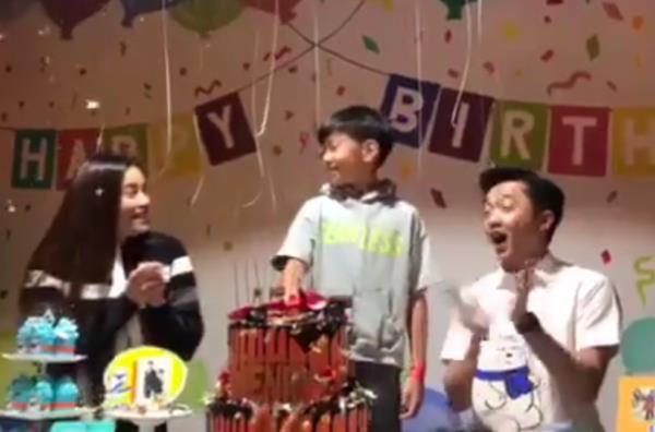 Hồ Ngọc Hà - Cường Đô La tái hợp trong dịp sinh nhật của con trai Subeo-2