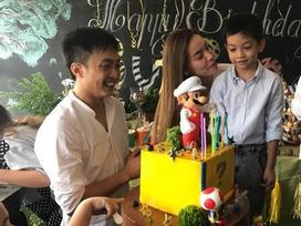 Hồ Ngọc Hà - Cường Đô La tái hợp trong dịp sinh nhật của con trai Subeo