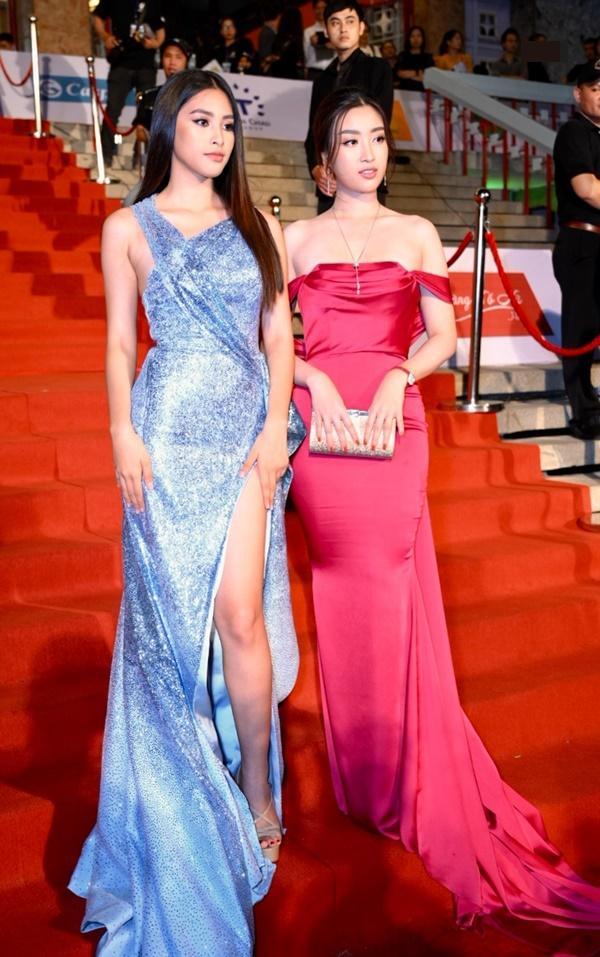 Chỉ diện đầm đơn sắc bó sát, Mai Phương Thúy vẫn xinh đẹp ngỡ ngàng lấn lướt dàn Hoa hậu Việt Nam-6