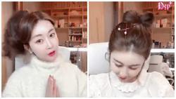 Top 10 kiểu buộc tóc chuẩn style Hàn cho nàng vừa đi làm vừa đi chơi những ngày hè oi bức