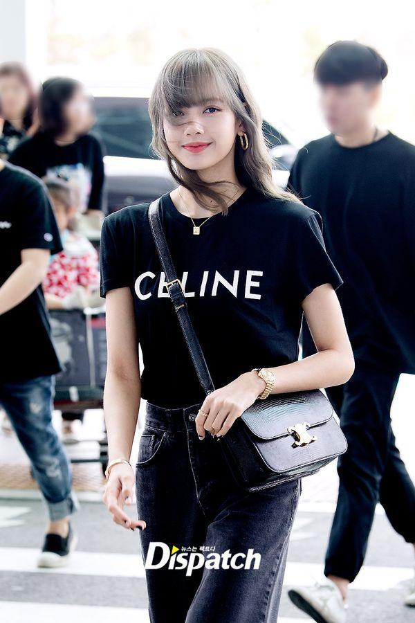 Từ sân bay tới đường phố, Lisa (BlackPink) gây bão với trang phục giản dị nhưng ai dè lại siêu đắt-3