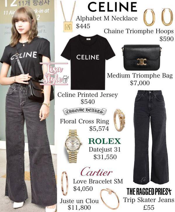 Từ sân bay tới đường phố, Lisa (BlackPink) gây bão với trang phục giản dị nhưng ai dè lại siêu đắt-4