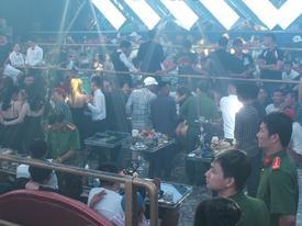 Gần 200 người sử dụng ma túy trong quán bar ở Đồng Nai