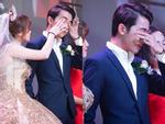 Cris Phan khoe ảnh tình bể bình bên Mai Quỳnh Anh trong đám cưới, BB Trần lầy lội mặc áo cô dâu đòi vào cướp chú rể-5