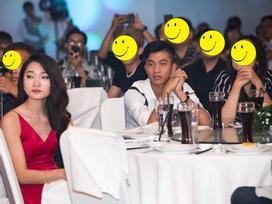 Giữa nghi án chia tay, thái độ 'bơ đẹp' của Văn Đức và Ngọc Nữ trong đám cưới Cris Phan khiến fan hoang mang