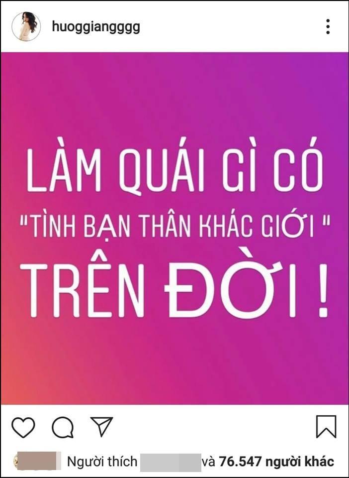 Được mệnh danh mỹ nhân sáng suốt, vậy mà Hương Giang khiến dân mạng nổi sóng chỉ vì triết lý lỗi về tình bạn khác giới-2