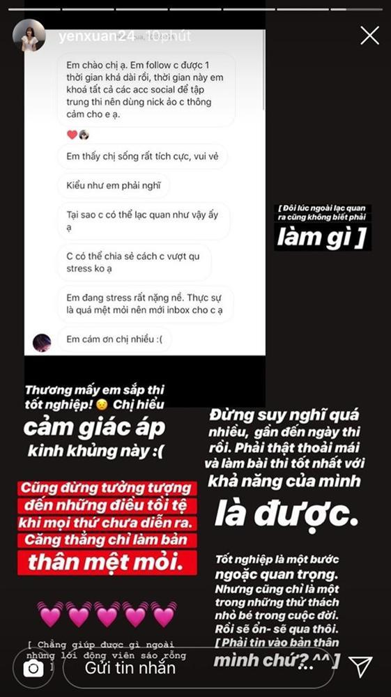 Bạn gái Lâm Tây, tuyển thủ Việt cổ vũ sĩ tử trước kỳ thi THPT quốc gia-1