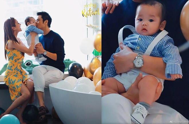Hoa hậu Hong Kong đón sinh nhật bên tài tử TVB và con trai-2