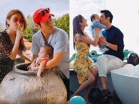 Hoa hậu Hong Kong đón sinh nhật bên tài tử TVB và con trai