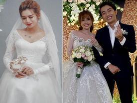 Cris Phan khoe ảnh tình bể bình bên Mai Quỳnh Anh trong đám cưới, BB Trần lầy lội mặc áo cô dâu đòi vào 'cướp' chú rể