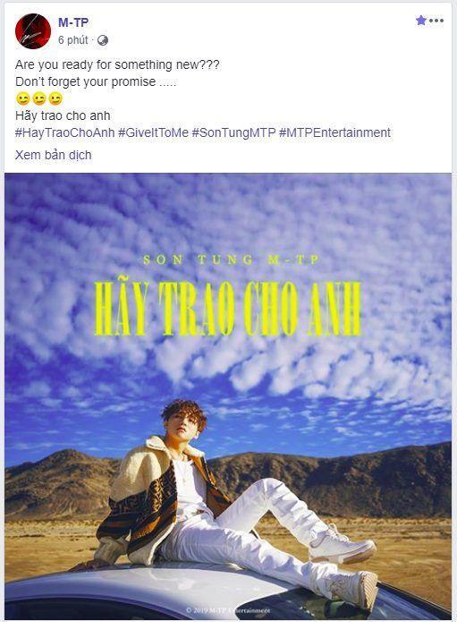 Sơn Tùng M-TP tung hình ảnh đầu tiên của Hãy trao cho anh: Liệu có làm nên mùa hè đáng nhớ nhất từ trước đến nay của Sky?-1