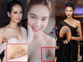 Đâu chỉ riêng Ngọc Trinh, nhiều mỹ nhân Việt xinh tuyệt đỉnh nhưng vùng nách thâm đen lại không thể giấu đâu cho kỹ