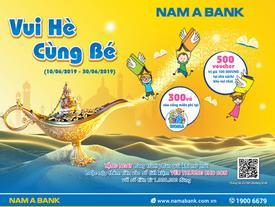 Gửi tiết kiệm, rinh quà cho bé ở Nam A Bank