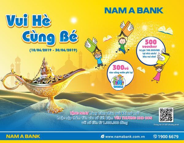 Gửi tiết kiệm, rinh quà cho bé ở Nam A Bank-1