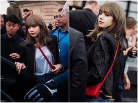 Lisa (BlackPink) khiến fan 'thòng tim' vì 'xinh muốn xỉu' tại Paris Fashion Week