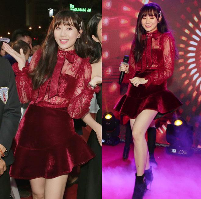 Bộ cánh hoành tráng của Hari Won mất điểm vì lỗi trang phục lót-8