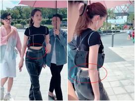 Ngọc Trinh mặc quần cạp trễ hở cả dây nội y khiến ai cũng hoang mang vì mỹ nhân quá táo bạo