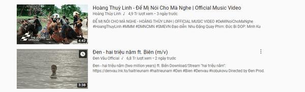 Lạ thay: Hoàng Thùy Linh bỏ cả tỷ đồng quay MV nhưng view lại không bằng sản phẩm giá bèo của Đen Vâu?-6