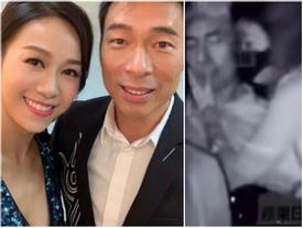 Vụ ngoại tình trên xe taxi của á hậu và nam ca sĩ Hong Kong lên phim
