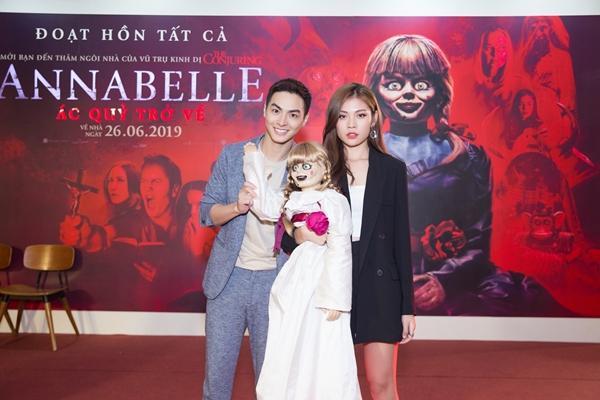 Ninh Dương Lan Ngọc và dàn sao Việt chào đón sự trở lại của búp bê quỷ ám Annabelle-3