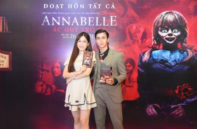 Ninh Dương Lan Ngọc và dàn sao Việt chào đón sự trở lại của búp bê quỷ ám Annabelle-6
