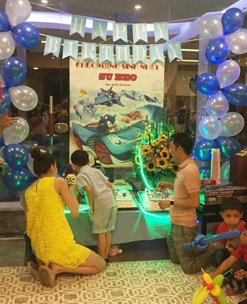 Dù gia đình ly tán, Subeo vẫn được tận hưởng 5 sinh nhật trọn vẹn với sự hiện diện của cả bố lẫn mẹ-3