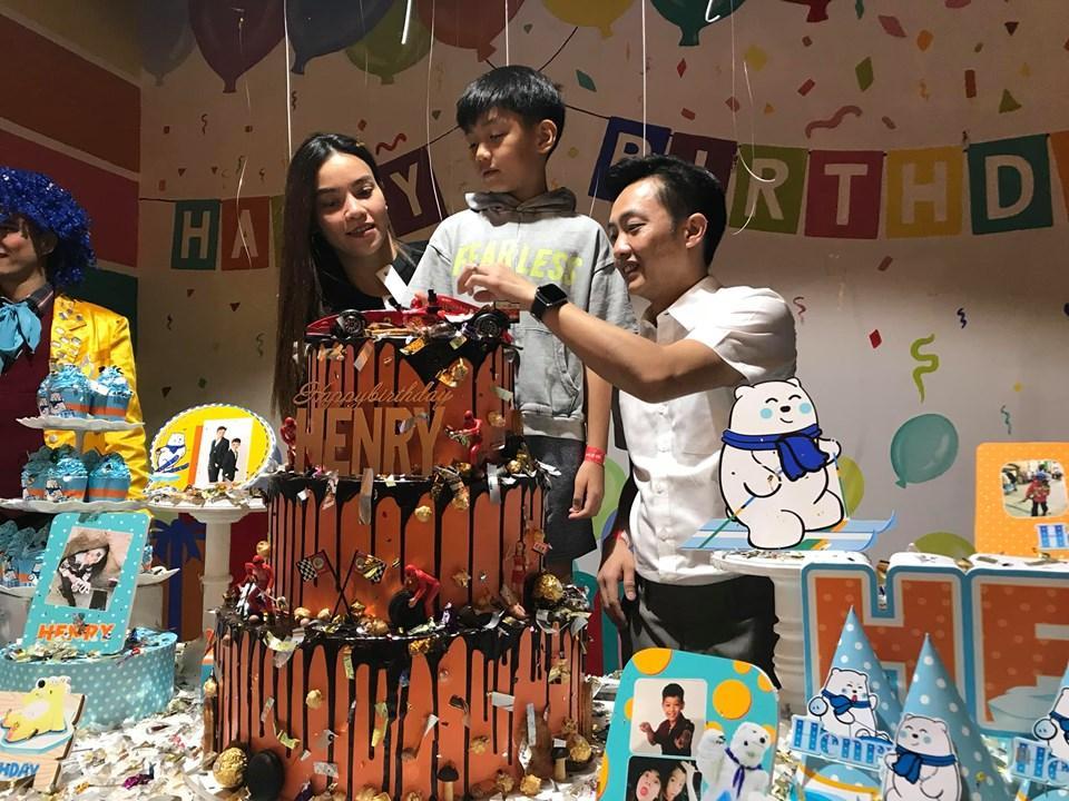Dù gia đình ly tán, Subeo vẫn được tận hưởng 5 sinh nhật trọn vẹn với sự hiện diện của cả bố lẫn mẹ-1