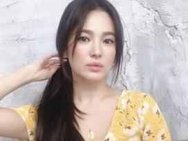 Song Hye Kyo gây thương nhớ khi xuất hiện với mái tóc dài nữ tính