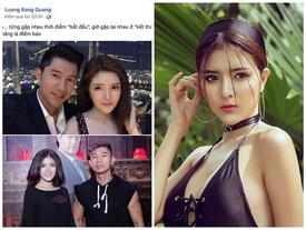 Ai cũng tưởng Lương Bằng Quang công khai bạn gái sau chia tay Ngân 98, ai dè cô gái ấy trả lời 'đau quá đau'