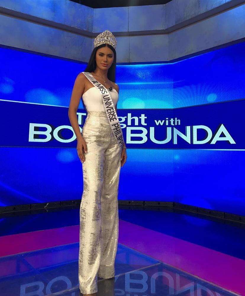 Bản tin Hoa hậu Hoàn vũ 25/6: Hoàng Thùy lên đồ xuất sắc, bất ngờ đẹp lấn lướt đối thủ Philippines-2