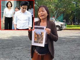 Clip sốc: Mẹ vợ tố Chiêm Quốc Thái CÔN ĐỒ, ĂN CƯỚP ngay tại sảnh tòa án sáng nay