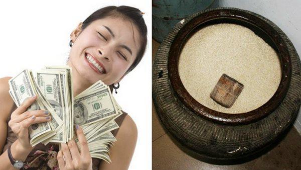 Hũ gạo là lỗ giấu tiền, đặt đúng chỗ lộc tụ gấp 10 lần, nghèo mấy cũng phát đạt-2