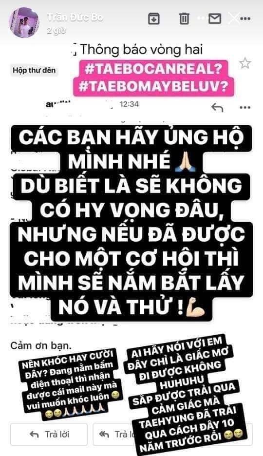 Fan BTS lạnh sống lưng khi nghe thảm họa mạng Trần Đức Bo khoe vượt qua vòng casting Big Hit-2