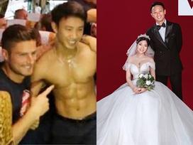 Bất ngờ: Chàng 'Running Man cởi trần' Vũ Xuân Tiến đã có vợ, danh tính cô dâu gây tò mò