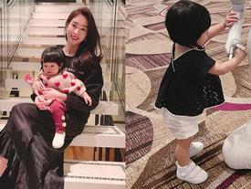 Gần nửa năm mới xuất hiện, con gái hoa hậu Đặng Thu Thảo khiến ai nấy ngỡ ngàng vì càng lớn càng dễ thương