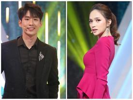 Hương Giang 'thả thính' Tuấn Trần: 'Em thích bướm xinh đẹp không? Vậy em bắt chị đi'