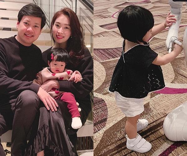 Gần nửa năm mới xuất hiện, con gái hoa hậu Đặng Thu Thảo khiến ai nấy ngỡ ngàng vì càng lớn càng dễ thương-2