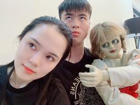 Quỳnh Anh bất ngờ hé lộ nhân vật là kỳ đà cản mũi bầu không khí lãng mạn với bạn trai Duy Mạnh