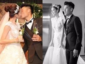 Kỳ Hân - Mạc Hồng Quân kỷ niệm 3 năm ngày cưới: Chàng nguyện lòng 'đeo tạ', nàng bồi hồi thời khắc bão giông