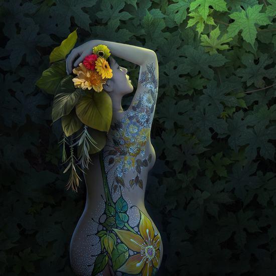 Thiếu nữ kể sự thật trần trụi về nghề người mẫu khỏa thân mặc quần áo vẽ-4