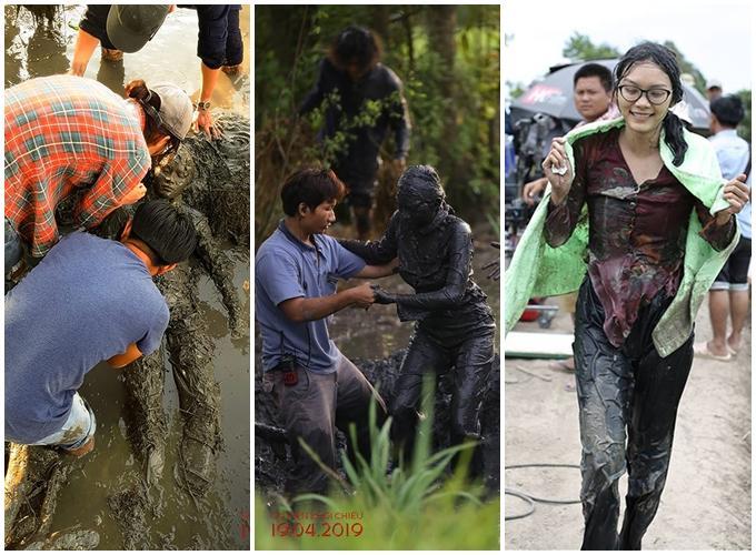 Sao Việt ngâm bùn, tắm sông thối khi đóng phim-5