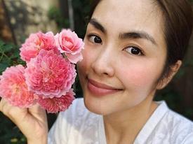 Nhan sắc mộc mạc của Tăng Thanh Hà ở tuổi 33