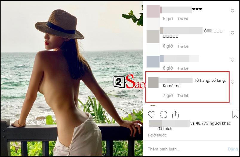 Hoa hậu Kỳ Duyên gây tranh cãi nảy lửa với bức ảnh khoe thân táo bạo nhất từ trước tới nay-4