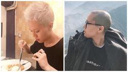 Tóc vừa dài ra được mấy cm, Tiên Tiên đã nhuộm ngay màu bạch kim trắng phớ 'trất's đừng hỏi'