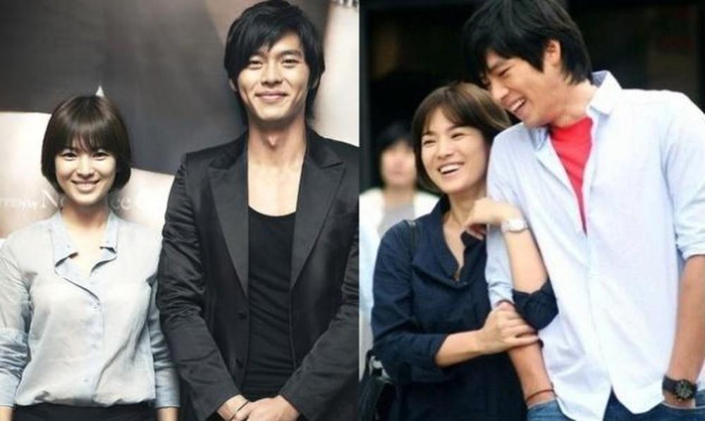 Biểu tượng nhan sắc Song Hye Kyo và những chuyện tình đau khổ khi yêu bạn diễn-6