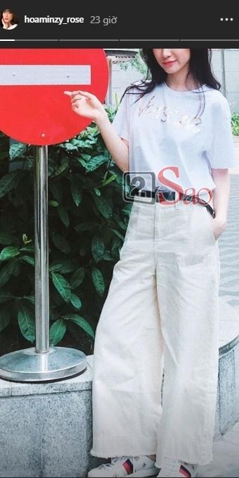 Hòa Minzy bị chiếc quần ống rộng phản chủ, dìm hàng bản thân thê thảm-4