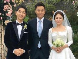 Đằng sau chiếc váy cưới cổ tích của Song Hye Kyo 2 năm trước