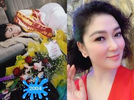 Ảnh hiếm 15 năm trước của hoa hậu Nguyễn Thị Huyền: Ngủ gục sau đêm đăng quang mà vẫn xứng danh 'quốc sắc'