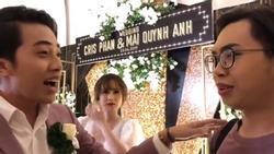 'Mặt dày' như thánh chửi Minh Dự: Làm loạn trong đám cưới Cris Phan - Mai Quỳnh Anh lại còn đòi chia chồng với cô dâu
