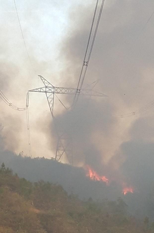 Clip: Cháy rừng chưa từng có ở Hà Tĩnh, nguy cơ ngắt đôi điện Bắc - Trung - Nam-6